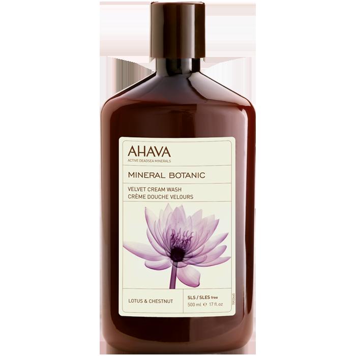 AHAVA Mineral Botanic Cream Wash - Lotus & Chestnut
