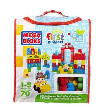Mega Bloks First Builders School House Learning