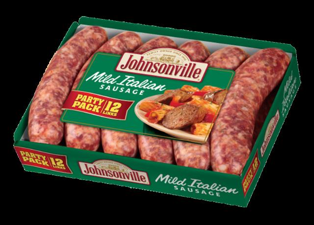 Johnsonville Fresh Italian Mild Sausage