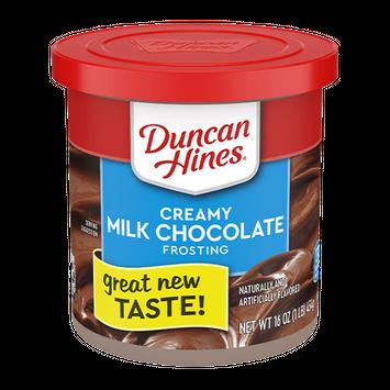 Duncan Hines Creamy Milk Chocolate Frosting