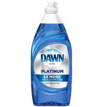Dawn Platinum Dishwashing Liquid, Refreshing Rain
