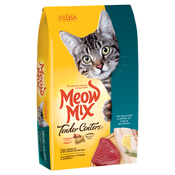 Meow Mix® Tender Centers Tuna & Whitefish Flavors