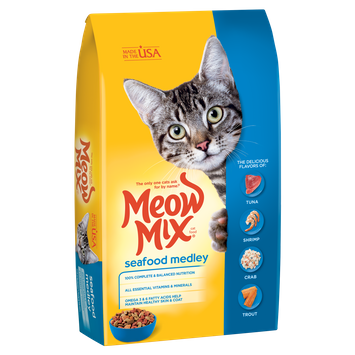 Meow Mix® Seafood Medley