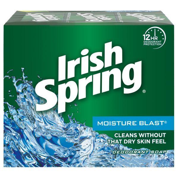 Irish Spring® Moisture Blast Bar Soap