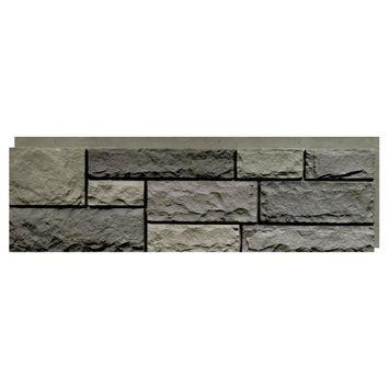 Random Rock Faux Stone Siding Panel