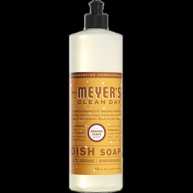 Mrs. Meyer's Orange Clove Dish Soap