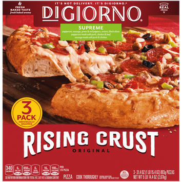 DiGiorno Original Rising Crust Supreme Frozen Pizza