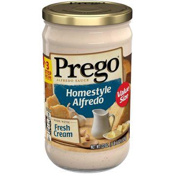 Prego Pasta Sauce, Homestyle Alfredo Sauce