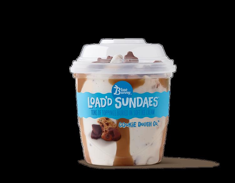 Blue Bunny Load'd Sundaes Cookie Dough Co'Ñ¢ Ice Cream , 8.5