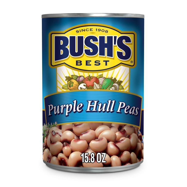 BUSH'S Purple Hull Peas 15.8 oz