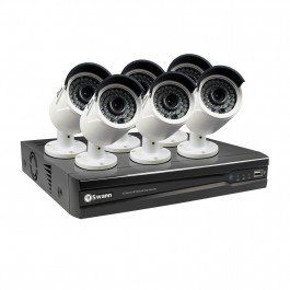8 Channel 4MP Network Video Recorder & 6 x 4MP Cameras (Plain Box Packaging)