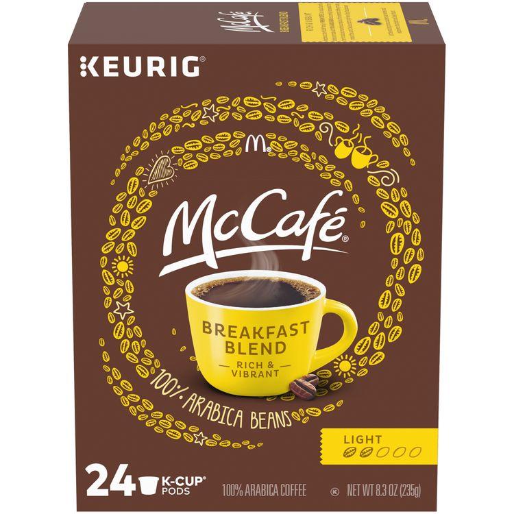 McCafe Breakfast Blend Coffee K-Cup Pods