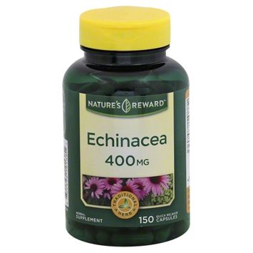 Nature's Reward Echinacea 400MG 150 ct