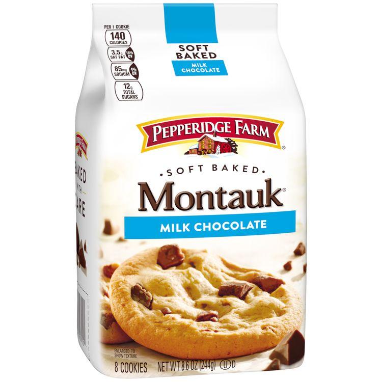 Pepperidge Farm® Montauk® Soft Baked Milk Chocolate Cookies, 8.6 oz. Bag