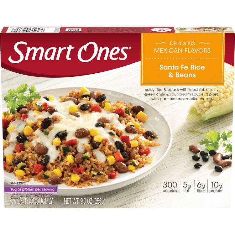 Smart Ones Sante Fe Rice & Beans, Frozen Meal, 9 oz Box