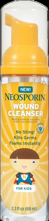 NEOSPORIN® First Aid Antiseptic Foaming Liquid