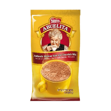 Nestle Abuelita Hot Chocolate, Authentic Mexican Style Hot Chocolate Powder, 2 Lb Bag, 6 Ct