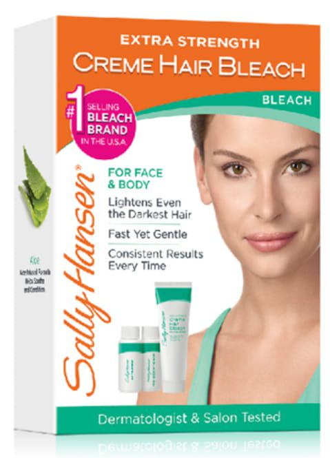 Sally Hansen Extra Strength Crème Hair Bleach - For Face & Body