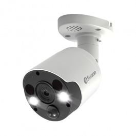 4K Thermal Sensing Spotlight Bullet IP Security Camera - NHD-885MSFB