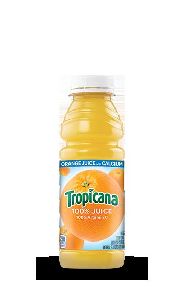 Tropicana 100% Orange Juice with Calcium