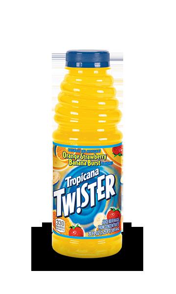 Tropicana Twister Orange Strawberry Banana Burst