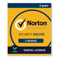 Licence Norton Security Deluxe 5 postes, 2 ans - Logiciel en téléchargement