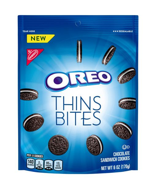 Oreo Thins Bites Mini Chocolate Sandwich Cookies
