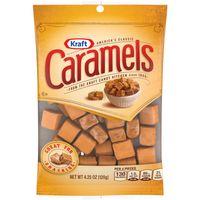 Kraft Caramels Individually Wrapped Candy Squares, 4.25 oz Bag