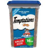 TEMPTATIONS Savory Salmon Flavor