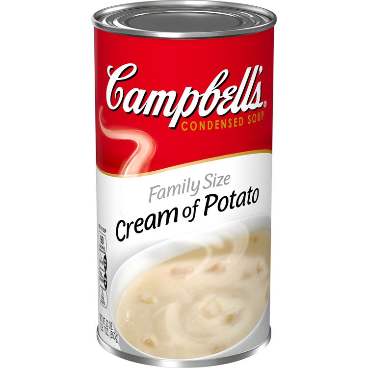 Campbell's® Condensed Family Size Cream of Potato Soup, 23 oz. Can