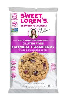 Sweet Loren's Place & Bake Gluten Free Oatmeal Cranberry Cookie Dough