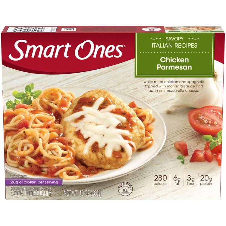 Smart Ones Chicken Parmesan, Frozen Meal, 10 oz Box