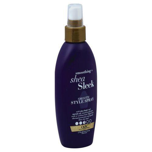 OGX Smoothing + Shea Sleek Smooth Style Spray 6 oz
