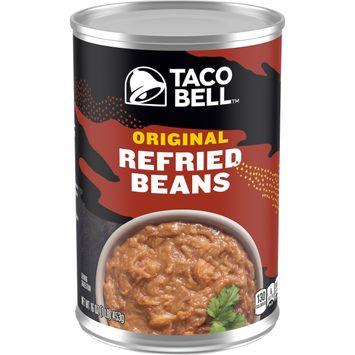 Taco Bell Original Refried Beans, 16 oz Can