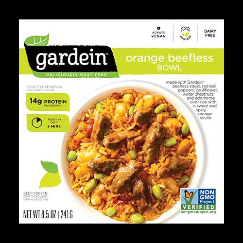 Gardein Orange Beefless Bowl