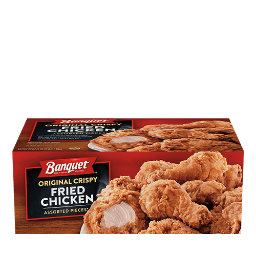 Banquet Original Crispy Fried Chicken (Box)