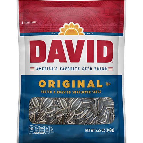 David Sunflower Seeds Original Sunflower Seeds 5.25 oz