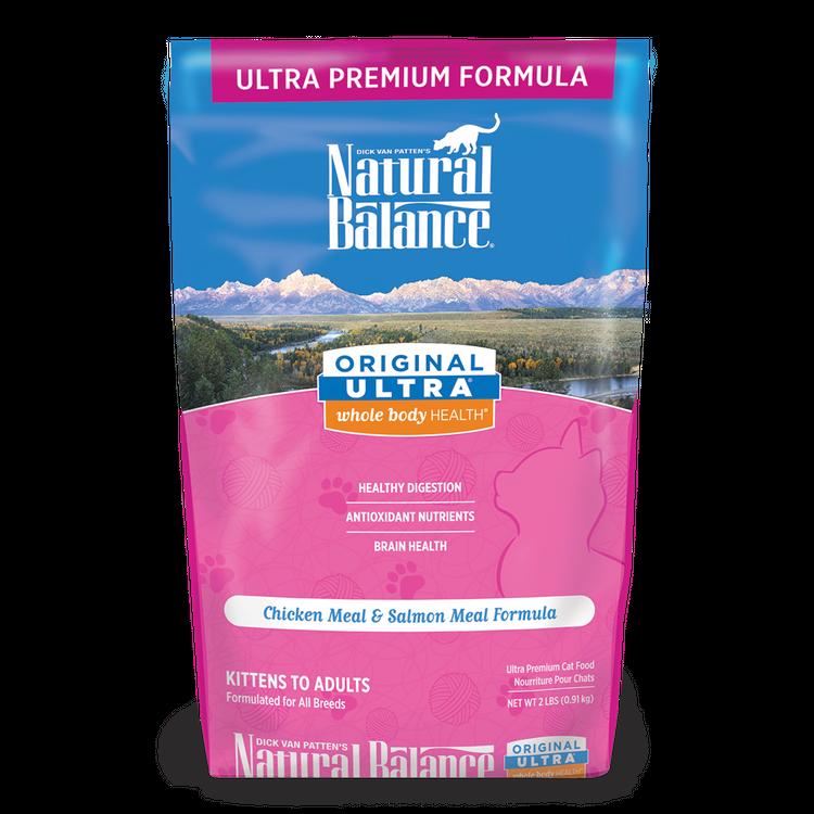 Natural Balance Original Ultra® Whole Body Health® Chicken Meal & Salmon Meal Formula