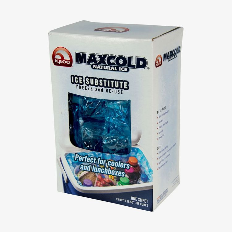 Igloo Coolers Maxcold Natural Ice Sheet 88 Cube