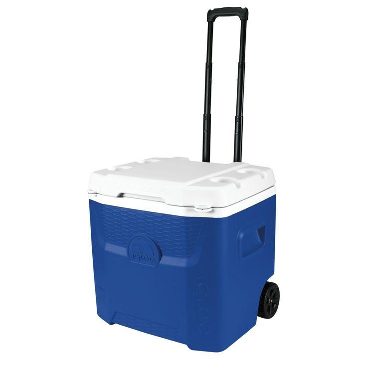 Igloo Coolers Quantum 52 Qt Roller Cooler