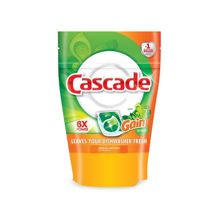 Cascade Original ActionPacs with Gain Scent Dishwasher Detergent