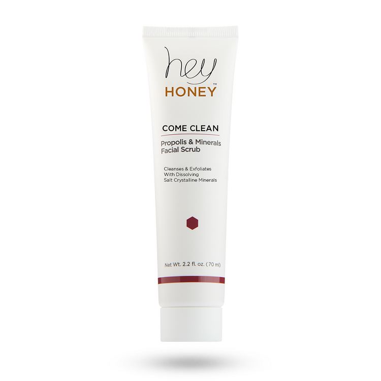 Hey Honey Come Clean - Propolis & Minerals Facial Scrub