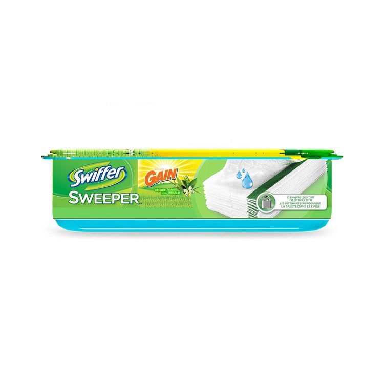 Swiffer Sweeper Wet Refills With Gain
