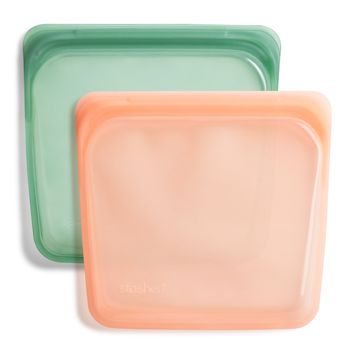 Stasher Reusable Silicone Sandwich 2-Pack