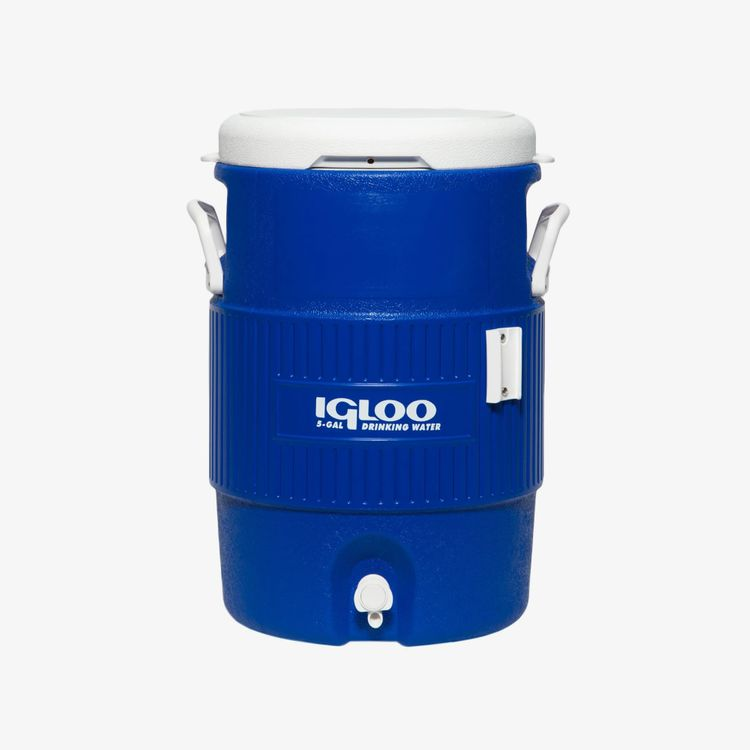 Igloo Coolers 5 Gallon Seat Top Water Jug With Cup Dispenser