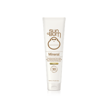 Sunbum Mineral SPF 30 Tinted Sunscreen Face Lotion