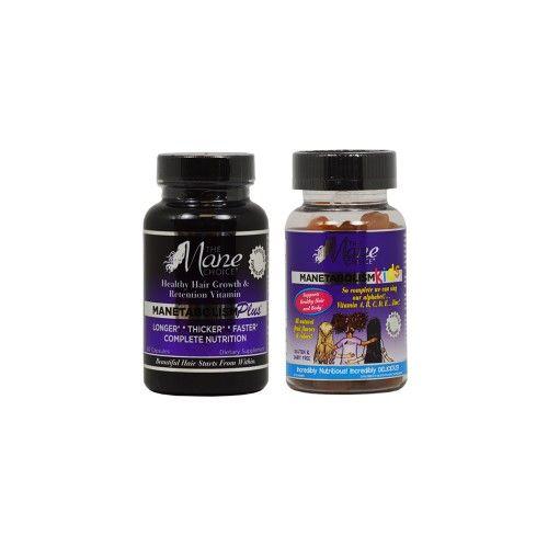 The Mane Choice Manetabclism Plus 60 Capsules & Kids 60 Gummies Vitamin