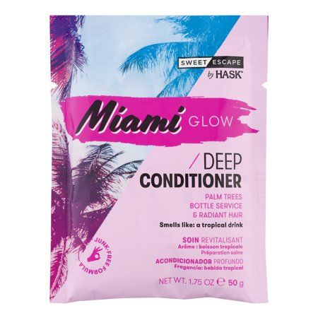 HASK Sweet Escape Miami Glow Deep Conditioner