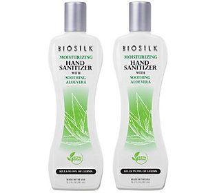 CHI BioSilk Moisturizing Hand Sanitizer Duo