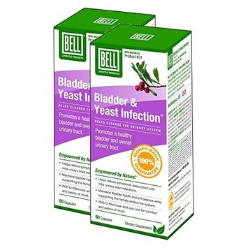Bell Bladder & Yeast Infection (60 Capsules) 2-Pack